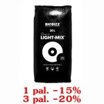 LIGHT-MIX, 20L, ZIEMIA KWIATOWA, BIOBIZZ, 1 paleta=120 worków