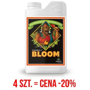 BLOOM, NAWÓZ NA KWITNIENIE Z FORMUŁĄ PH PERFECT, (gleba, hydro, kokos), ADVANCED NUTRIENTS, 4L