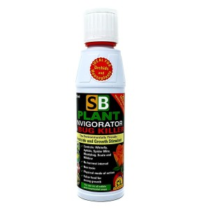 SB PLANT INVIGORATOR & BUG KILLER 250ml - KONCENTRAT OWADOBÓJCZY DO OPRYSKU + STYMULATOR WZROSTU, GROWTH TECHNOLOGY