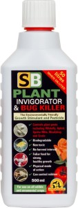 SB PLANT INVIGORATOR & BUG KILLER 500ml - KONCENTRAT OWADOBÓJCZY DO OPRYSKU + STYMULATOR WZROSTU, GROWTH TECHNOLOGY
