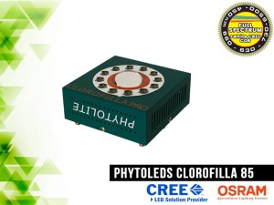 LAMPA LED, CLOROFILLA  80W, LED CREE CXB3070 COB +  LED Osram SSL80, do uprawy roślin