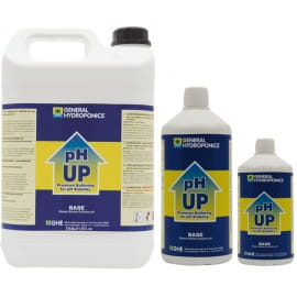 PH UP, PŁYN,   1L, REGULATOR PODNOSZĄCY pH, GENERAL HYDROPONICS - GHE