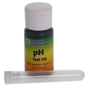 PH TEST, TESTY DO POMIARU pH W ROZTWORZE, 4 - 8.5 pH, GENERAL HYDROPONICS - GHE, pH METR
