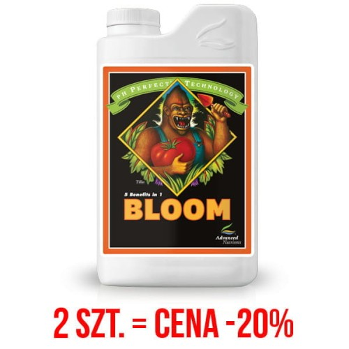 BLOOM pH PERFECT, 10L, NAWÓZ NA KWITNIENIE, (gleba, hydro, kokos), ADVANCED NUTRIENTS