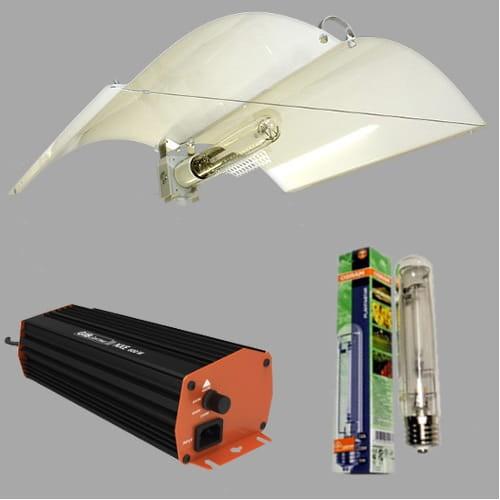 Zestaw Hps 250w Elektroniczny Do Uprawy Roślin Gib Nxe Wings Defender Medium Osram Plantastar Wzrost Kwitn