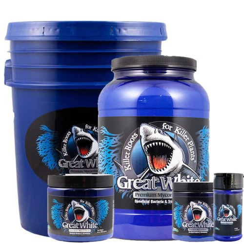 MIKORYZA W PROSZKU, GREAT WHITE PREMIUM MYCORRHIZAE 113,4g, PLANT SUCCESS, mykoryza